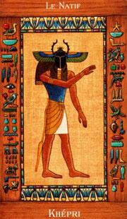le tarot egyptien tirage